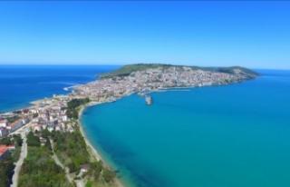 'Mutlu şehir' Sinop'ta bayram tatili...