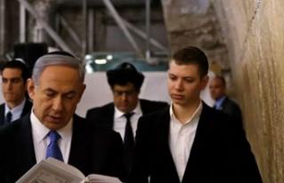 Netanyahu'nun oğlundan Trump'a ilginç...