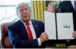 Son dakika... Tansiyon yükseliyor... Ve Trump imzaladı!