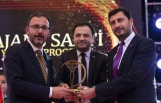 'Sporun Devleri Buluşuyor' Ödül Töreni