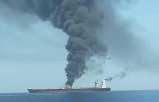 Tanker saldırıları ile ilgili bir açıklamada...