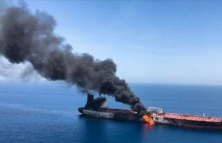 Türkiye Umman Körfezi'ndeki iki tankere yönelik...