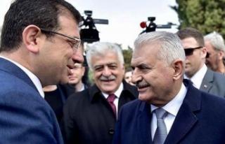 'Yıldırım - İmamoğlu' ortak yayını...