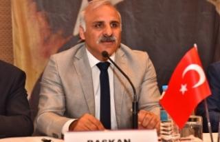 Zorluoğlu, Doğu Karadeniz belediyeler birliği başkanı...