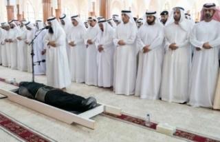 BAE şeyhinin oğlunun cenazesinde şaşırtan detay