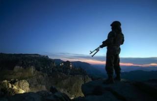 Bakanlık duyurdu: 2 terörist öldürüldü