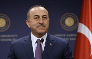 Çavuşoğlu, IKBY Başbakanı Barzani ile telefonda...