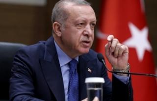 Cumhurbaşkanı Erdoğan'dan 'Srebrenitsa'...