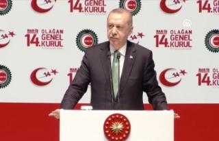 Cumhurbaşkanı Erdoğan: Kararlıyız, bu işi de...