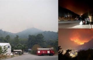 Muğla'daki ikinci yangın söndürüldü