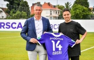 Samir Nasri Anderlecht'de