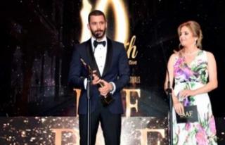 Ünlü oyuncuya Lübnan'dan ödül