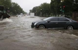 Washington sular altında!