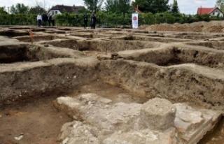 Zigetvar'da Osmanlı kasabasının kalıntıları...