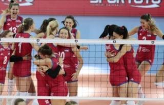 2019 Kadınlar Avrupa Şampiyonasında Sırbistan...