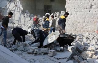 Esed rejimi İdlib'e saldırdı: Ölü ve yaralılar...