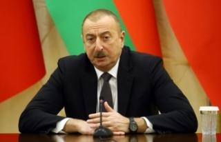 Aliyev'den kırmızı çizgili mesaj