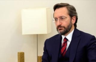 İletişim Başkanı Altun: IFRC, Kerem Kınık'ı...