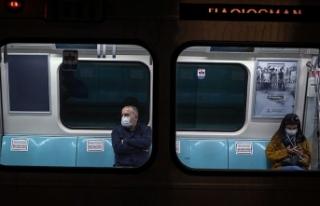 Metroda virüs nasıl yayılıyor? Ürküten görüntüler