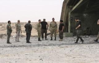 Libya ordusu BAE'nin zırhlı aracını imha...
