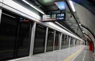 Mecidiyeköy-Mahmutbey Metro Hattı'nın açılışı...