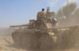 Yemen ordusu Mansur dağını kontrolü altına aldı!