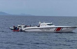 Ayvalık açıklarında tekne faciası! Kayıp 4 kişi...
