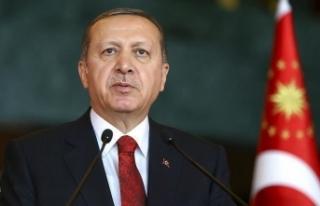 Cumhurbaşkanı Erdoğan'dan şehit ailesine...