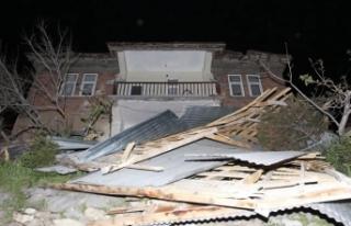 Fırtına mağdurlarına 1 milyon lira destek