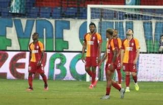 Galatasaray Rize'de ağır yaralı