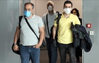 İranlı yolcuları taşıyan uçak, İstanbul'a...