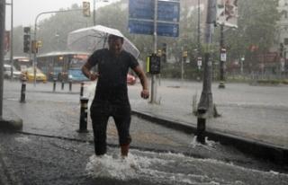 Meteoroloji uyardı: Şiddetli yağacak, sele dikkat!