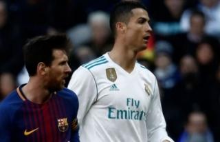 Messi ile Ronaldo Tevez'in jübilesinde aynı...