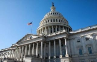 ABD Temsilciler Meclisi Genel Kurul salonunda maske...
