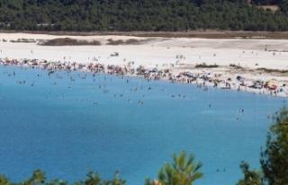 Burdur Valisi Arslantaş'tan 'Salda Gölü'...
