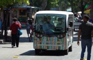 Büyükada'da elektrikli araç seferleri başladı