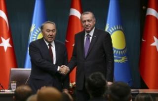 Cumhurbaşkanı Erdoğan Kazakistan'ın kurucu...