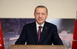 Cumhurbaşkanı Erdoğan Süper Lig'e yükselen...