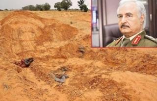 Hafter'in toplu mezarlarından ceset fışkırıyor