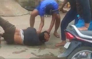 Hindistan'da Müslüman genç, inek eti taşıdığı...