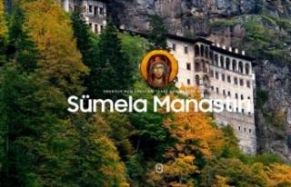 İletişim Başkanlığından Sümela Manastırı'nın...