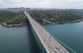 İstanbul'da 15 Temmuz etkinliklerine trafik...