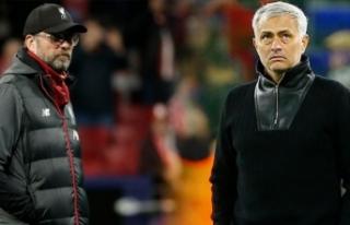 Klopp ve Mourinho'dan CAS'ın Manchester...