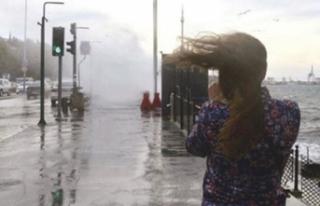 Meteoroloji'den şiddetli yağış ve fırtına...