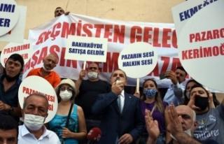 Pazarları kapatılan esnaftan Bakırköy Belediyesi'ne...
