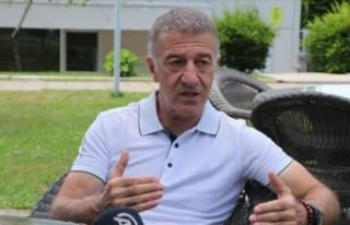 Trabzonspor Başkanı Ahmet Ağaoğlu'ndan CAS...