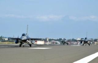 Türk F-16'ları Azerbaycan'a teker koydu