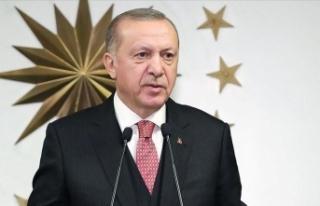 Erdoğan, Eskişehir'in kurtuluşunu kutladı