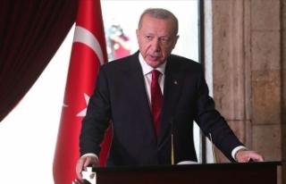 Cumhurbaşkanı Erdoğan'dan savaş gemilerine...