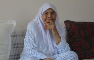 Elife nine 106 yıllık yaşamını doğal beslenmeye...